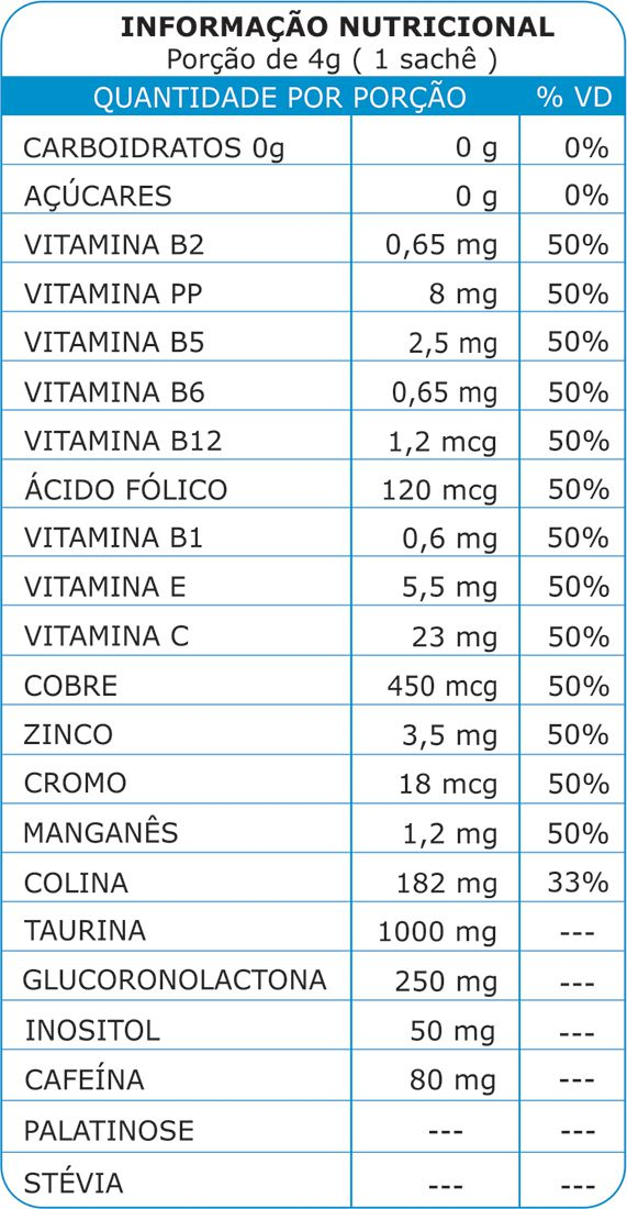 5D Remind Energético e Vitaminas Sabor Limão 30 Sachês  Five Diamonds