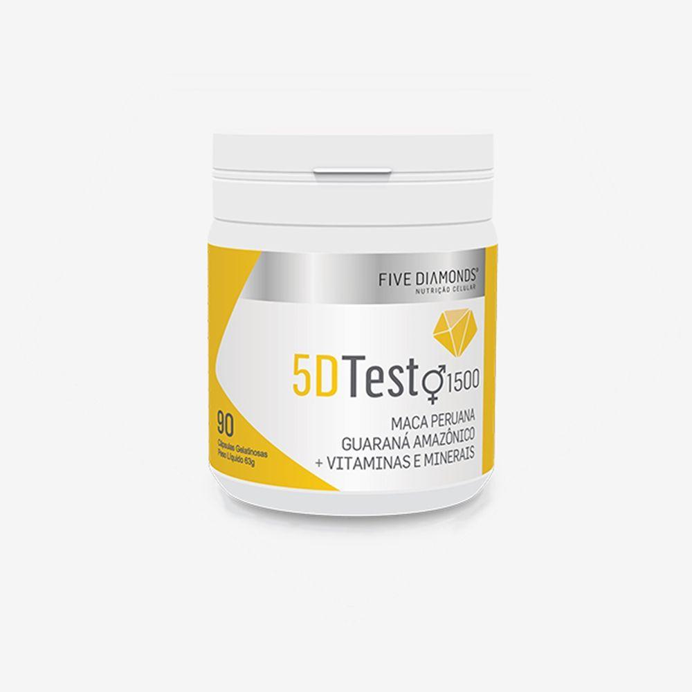 5D Testo1500 Revigorante Polivitamínico 90 cápsulas - Five Diamons