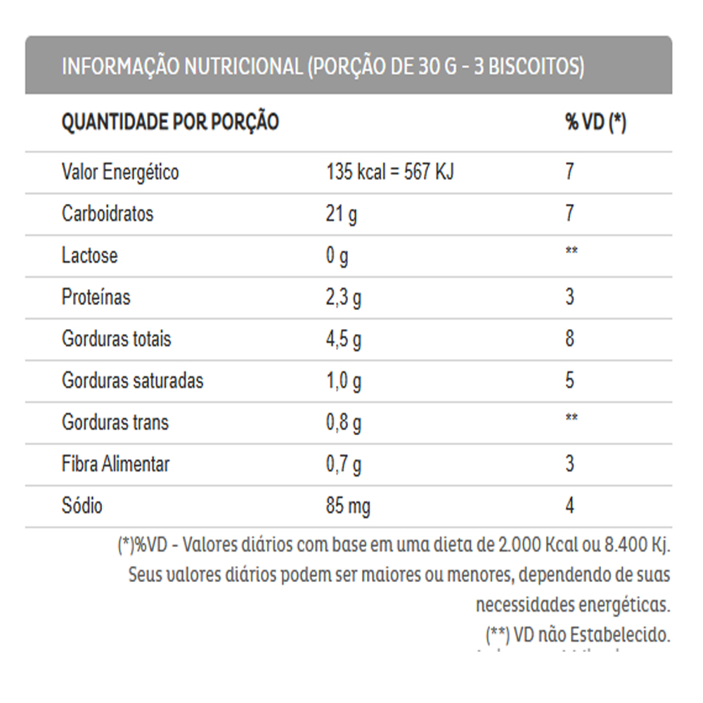6un Biscoito Recheado Diversão Sabores Diversos Sem Lactose 115g Liane
