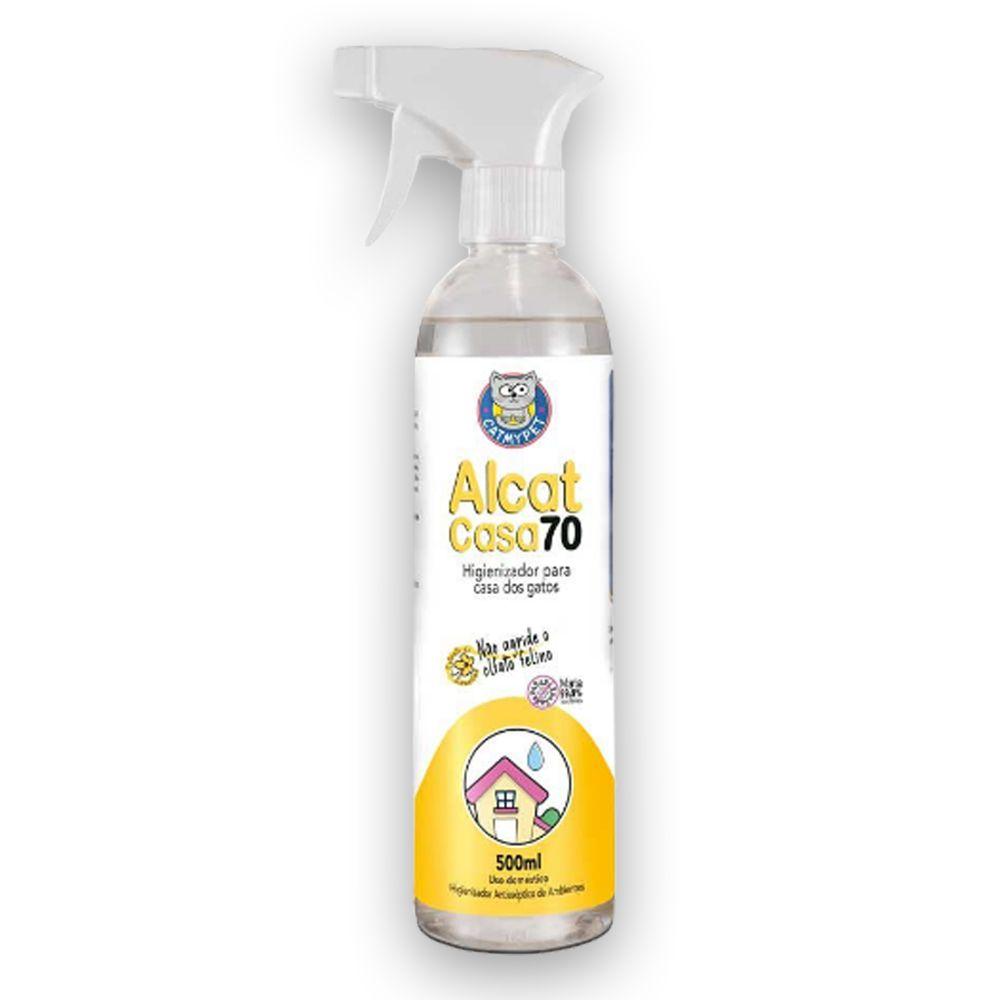 Alcat Casa 70 Desinfetante Antisséptico 500ml CatMyPet