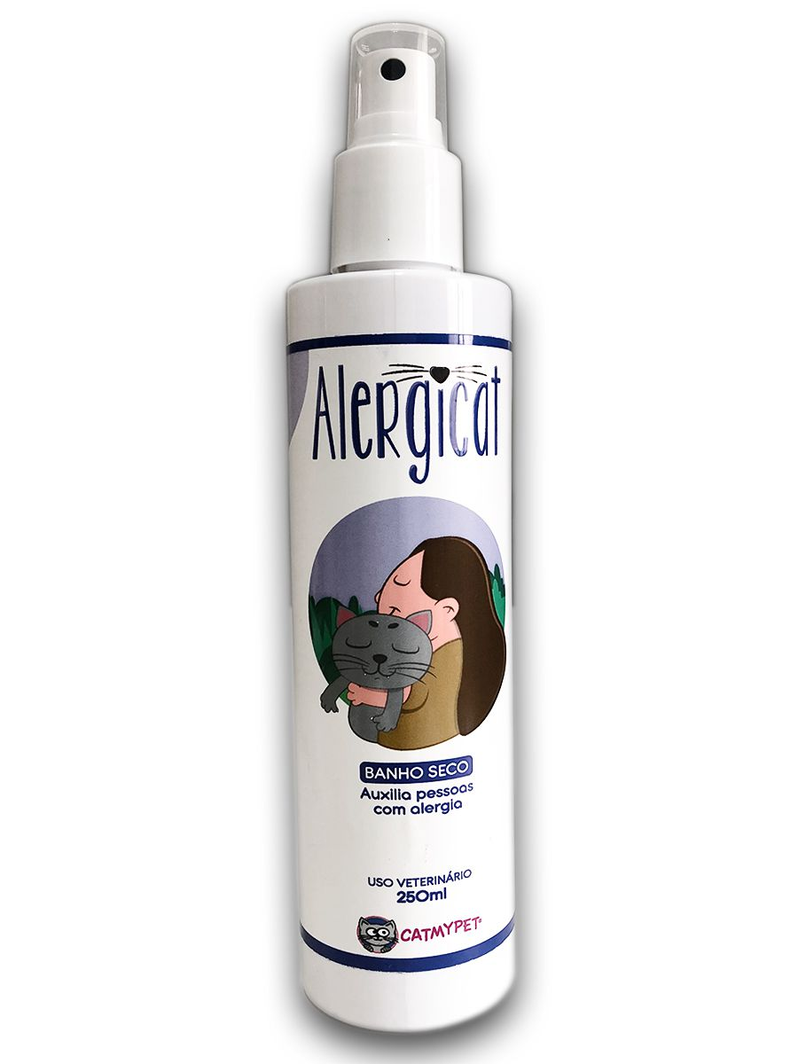 Alergicat Banho à Seco 250ml - CatMyPet