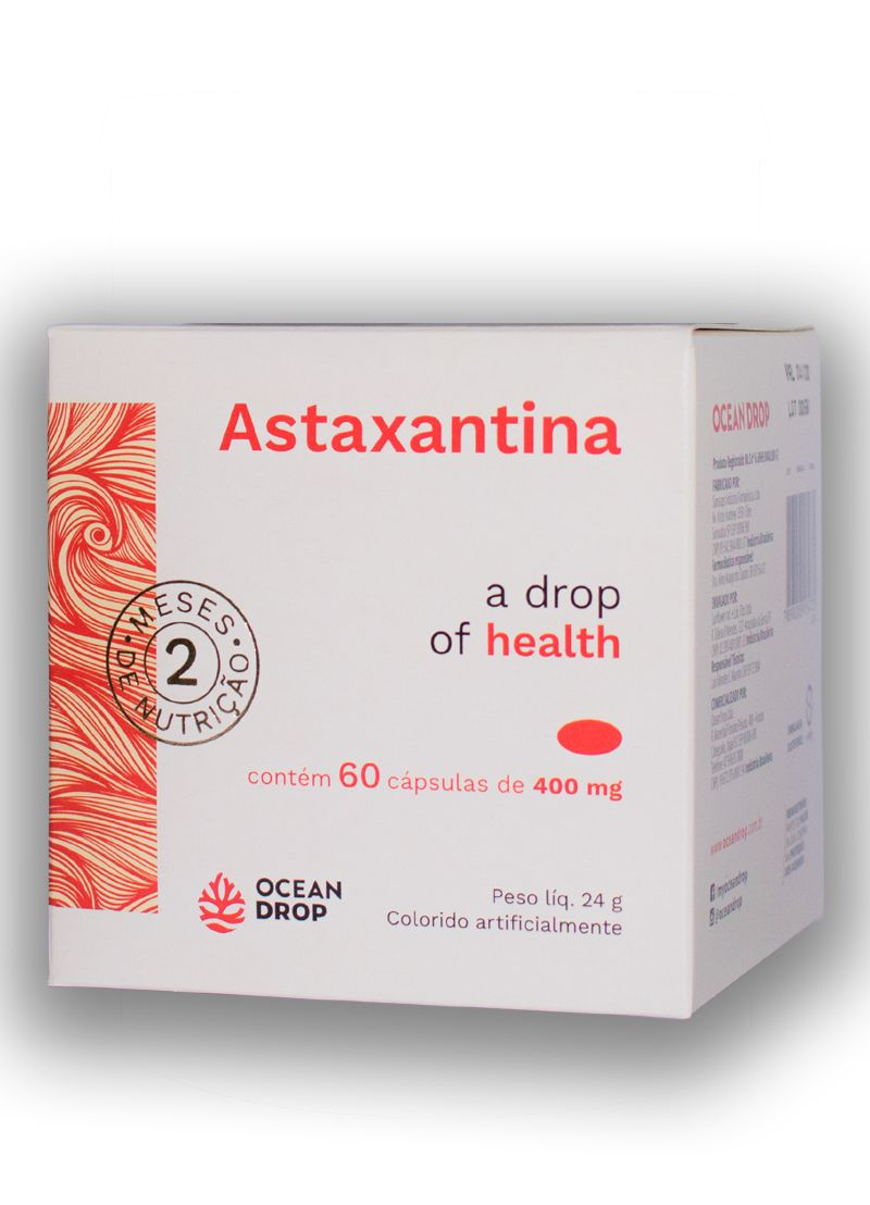 Astaxantina 60 cápsulas - Ocean Drop