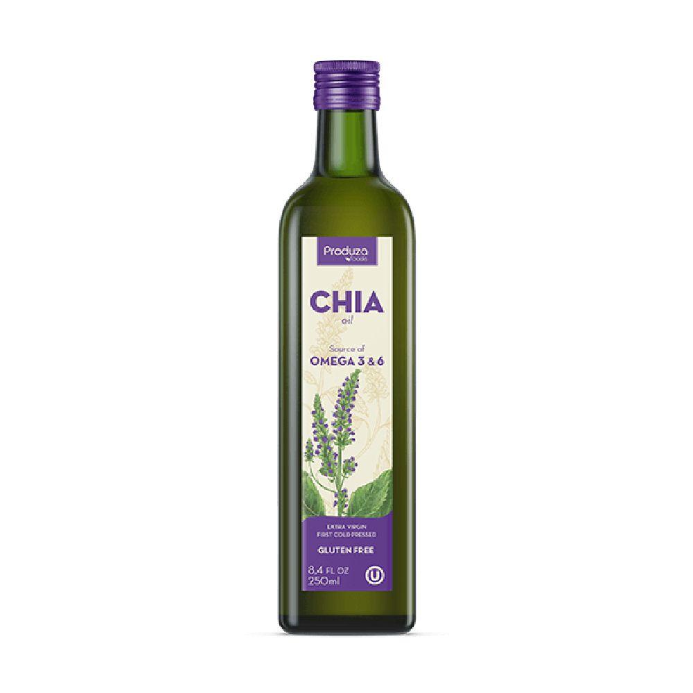 Azeite de Chia Extra Virgem 250ml - Produza Foods