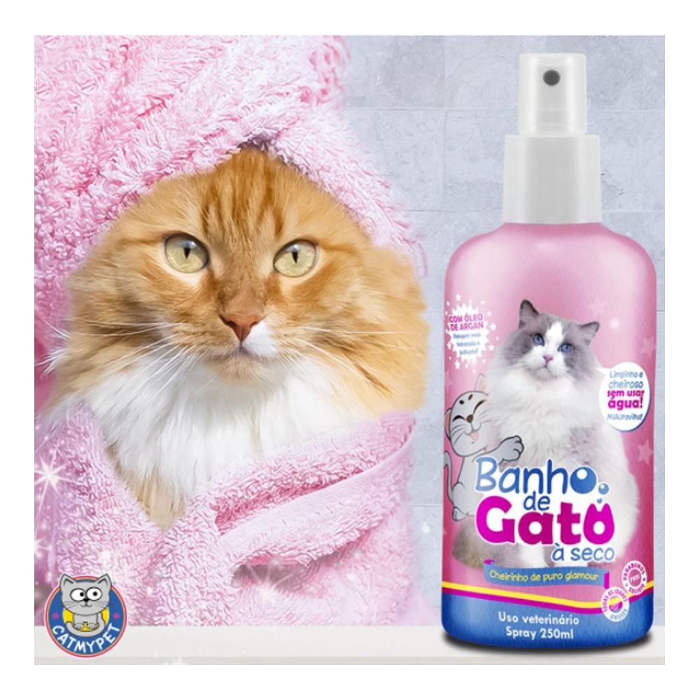 Banho de Gato à Seco Cheirinho de Puro Glamour 250ml - CatMyPet