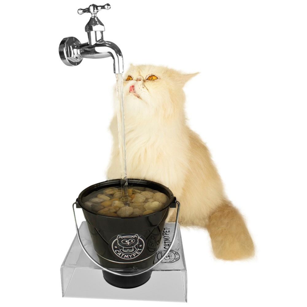 Bebedouro Torneira Fonte para Gato Magicat Black Bivolt CatMyPet