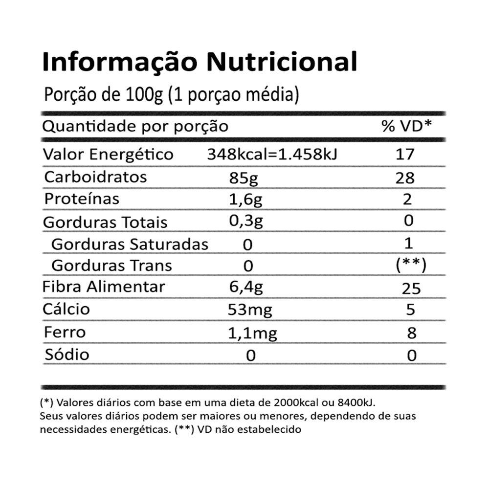 Beiju Tapioca Integral Orgânico Biomassa da Mandioca 600g Onveg