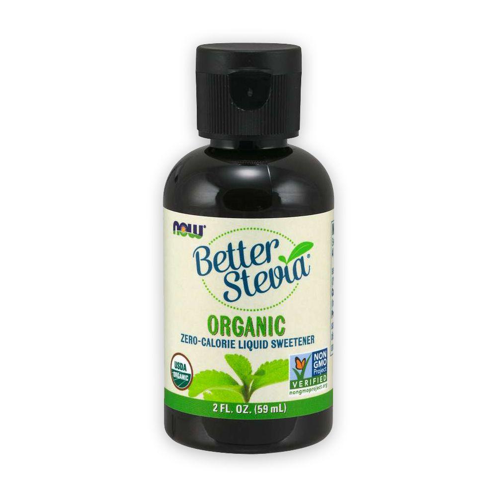 Better Stevia Adoçante Premium Liquido 59ml NOW
