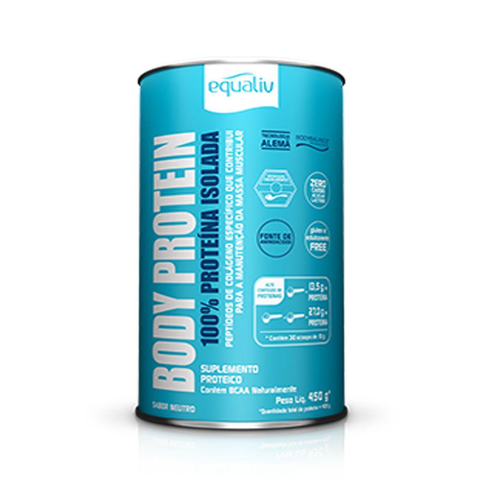 Body Protein Proteina de Colageno Hidrolisado 450g Equaliv