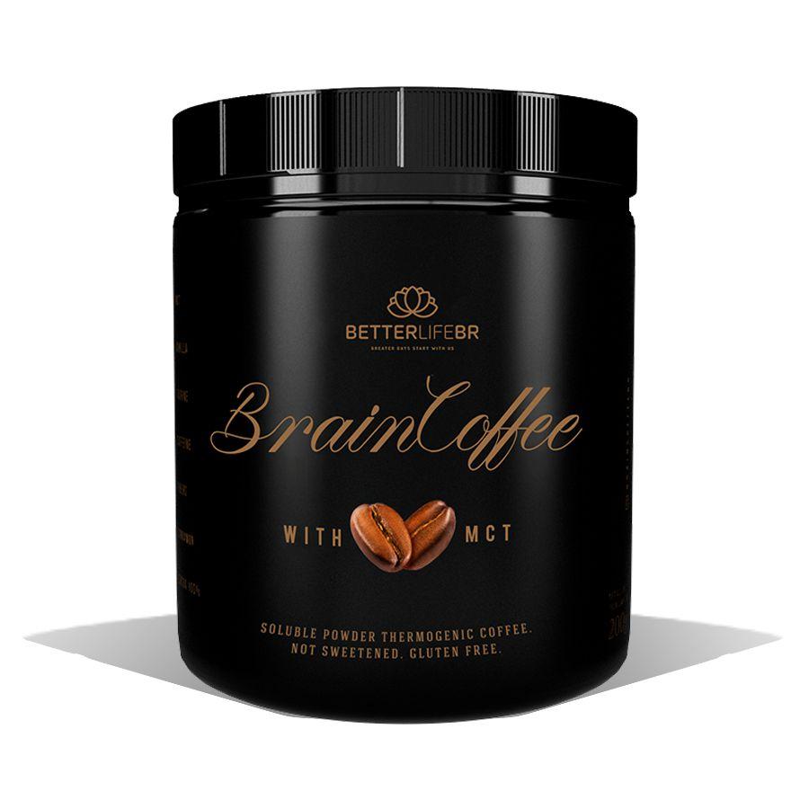 Brain Coffee com MCT Café Termogênico 200g - Better Life