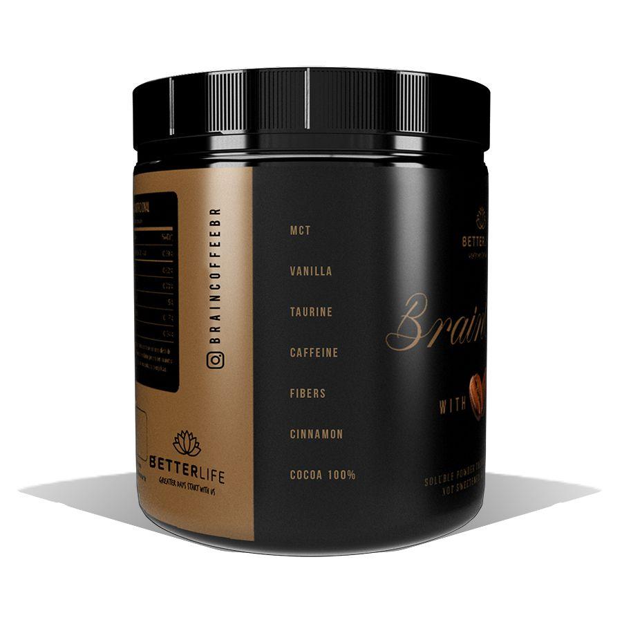 Brain Coffee com MCT Café Termogênico 200g BetterLife