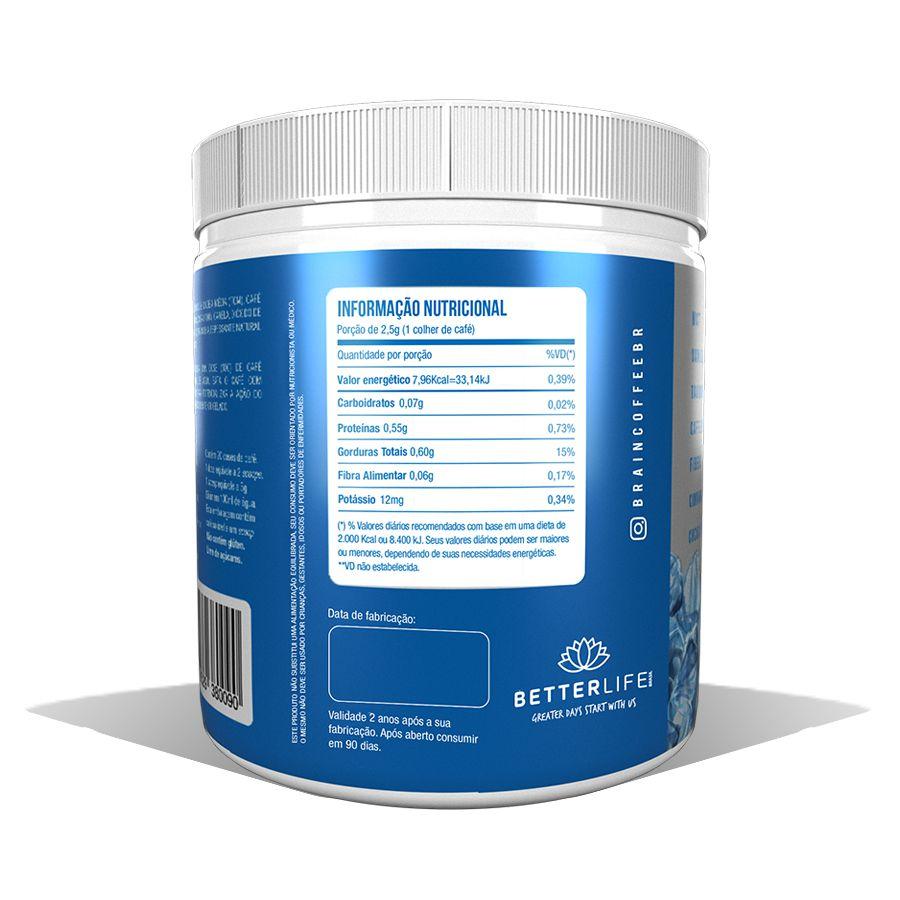 Brain Coffee ICE com MCT Café Termogênico Refrescante 200g BetterLife