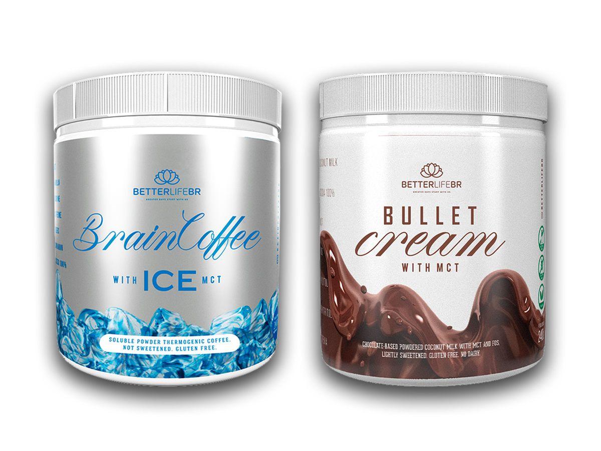 Brain Coffee ICE e Bullet Cream - BetterLife