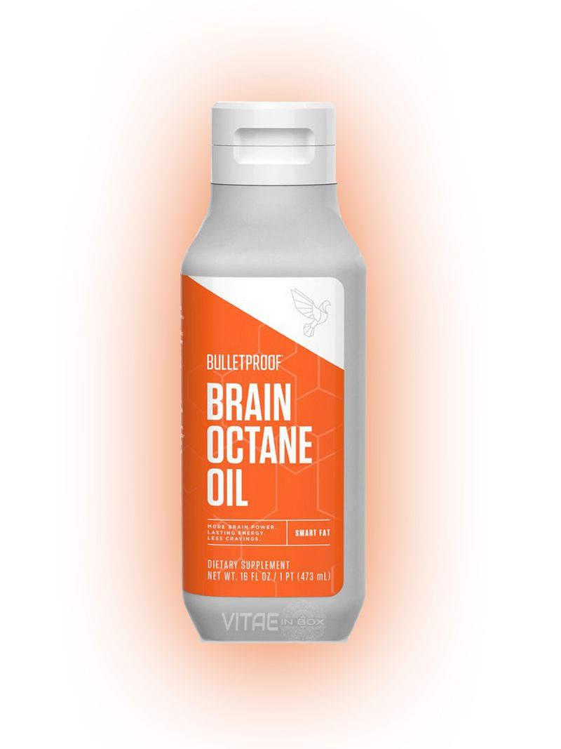 Nova Embalagem - Brain Octane Oil MCT 473ml - Bulletproof