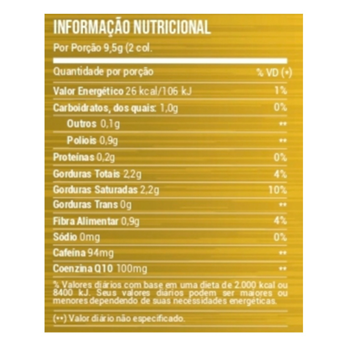 Brain Tea Bullet Proof Tea Cha Soluvel Sem Gluten 200g