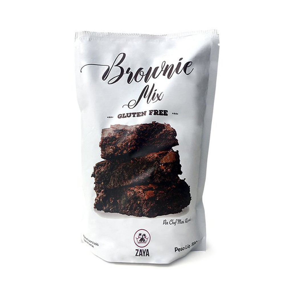 Brownie Mix Mistura Pronta Sem Glúten 590g Zaya