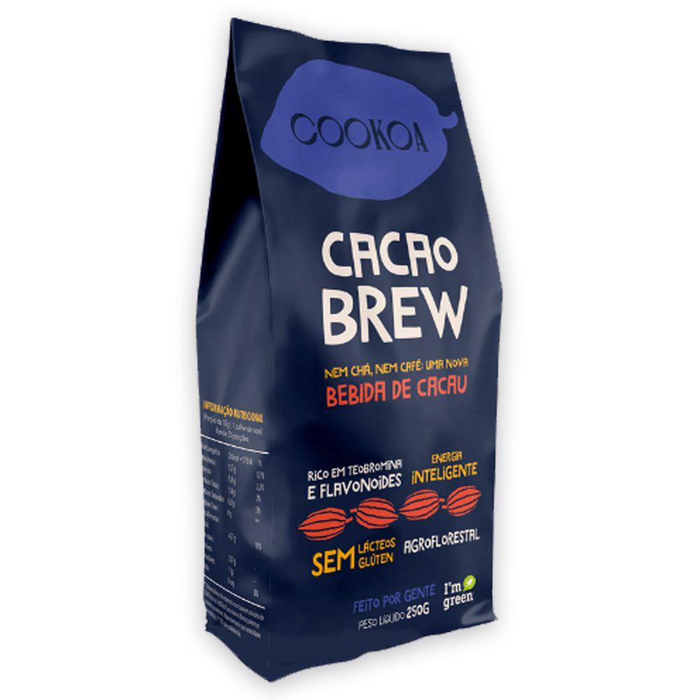 Cacao Brew Bebida de Cacau Sem Gluten 250g Cookoa