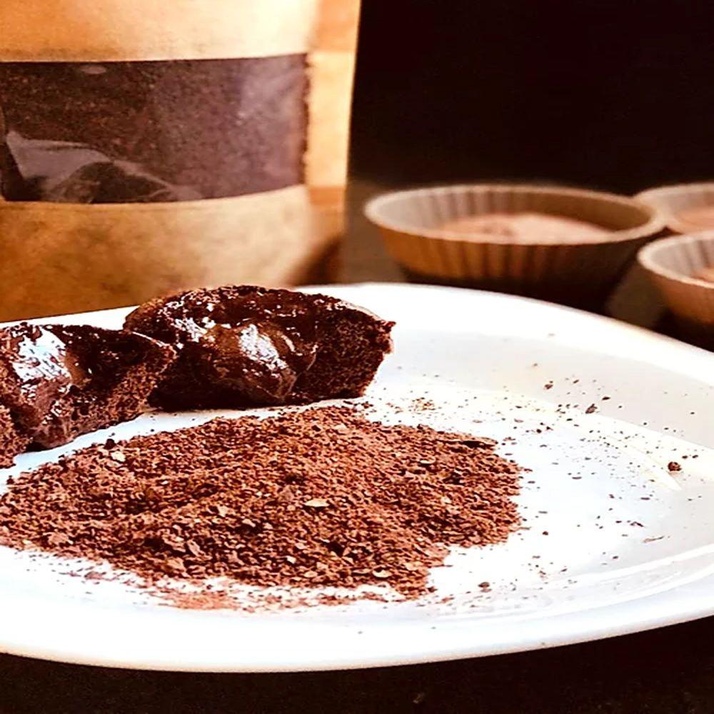 Cacao Fiber Farinha de Cacau Low Carb 75g 3un. Cookoa