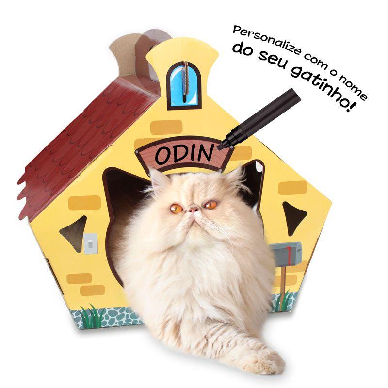 Cat House Casa para Gatos - CatMyPet