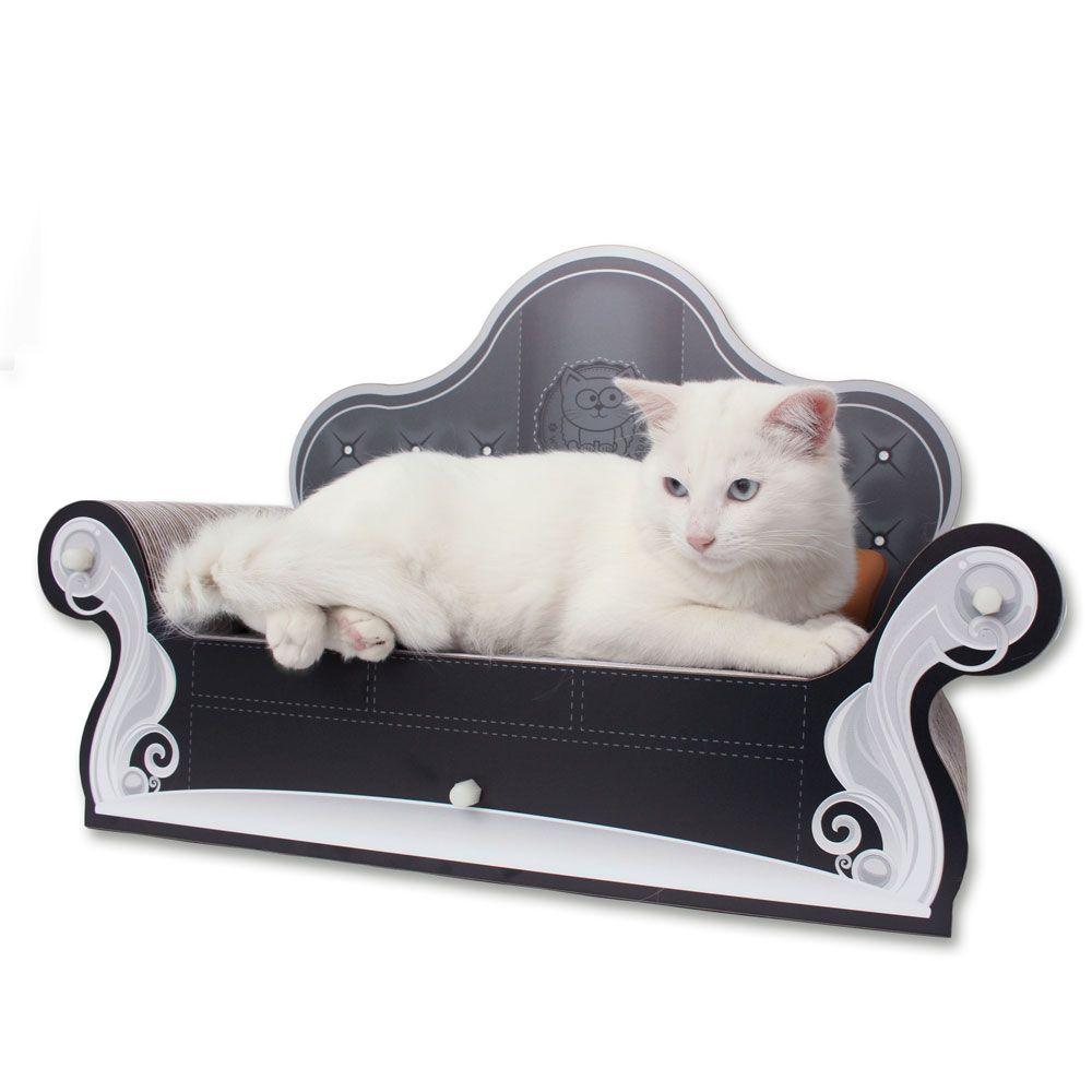 Cat Sofa Arranhador para Gatos Preto - CatMyPet