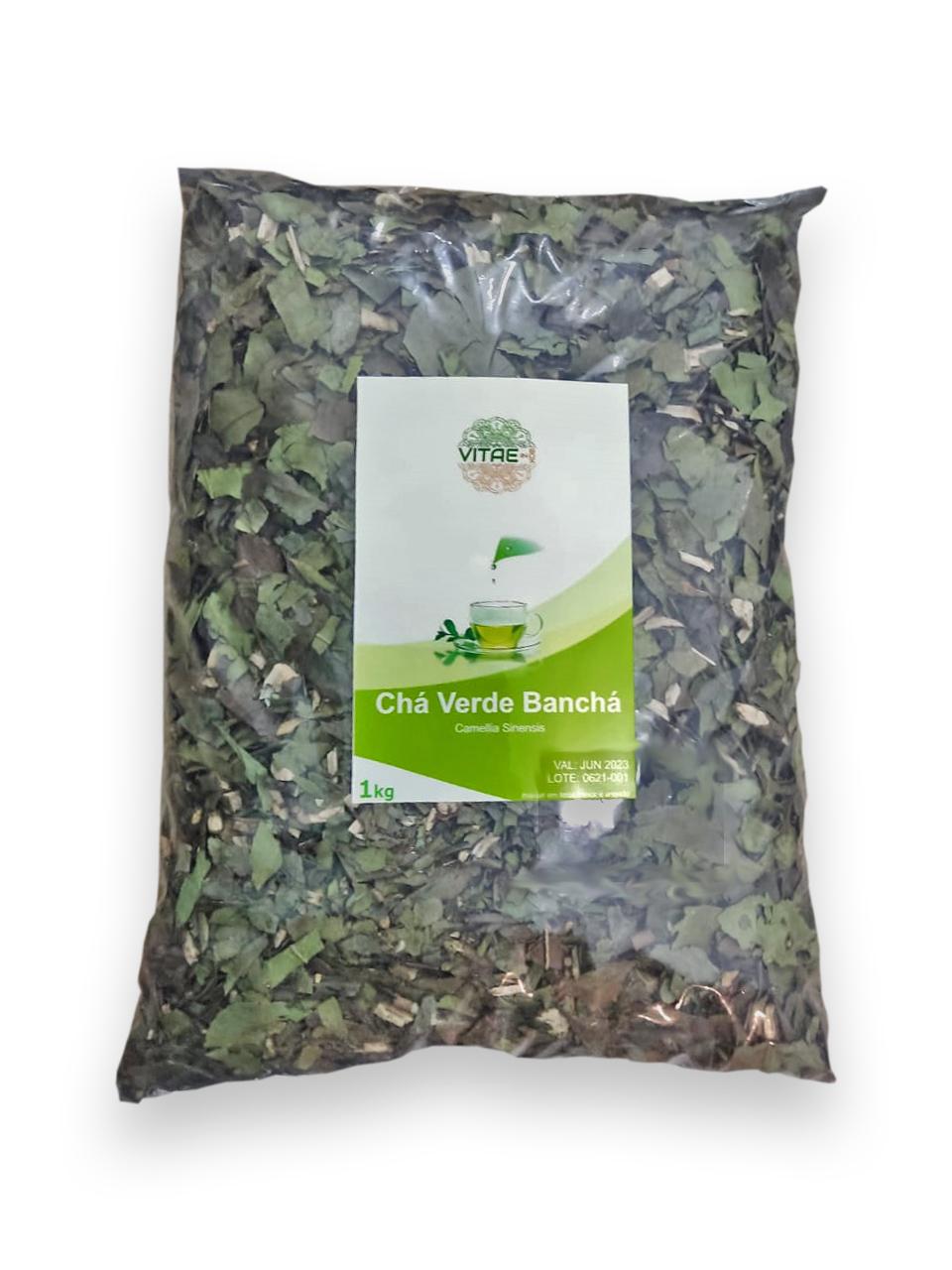 Chá Verde em Folhas Banchá 1kg