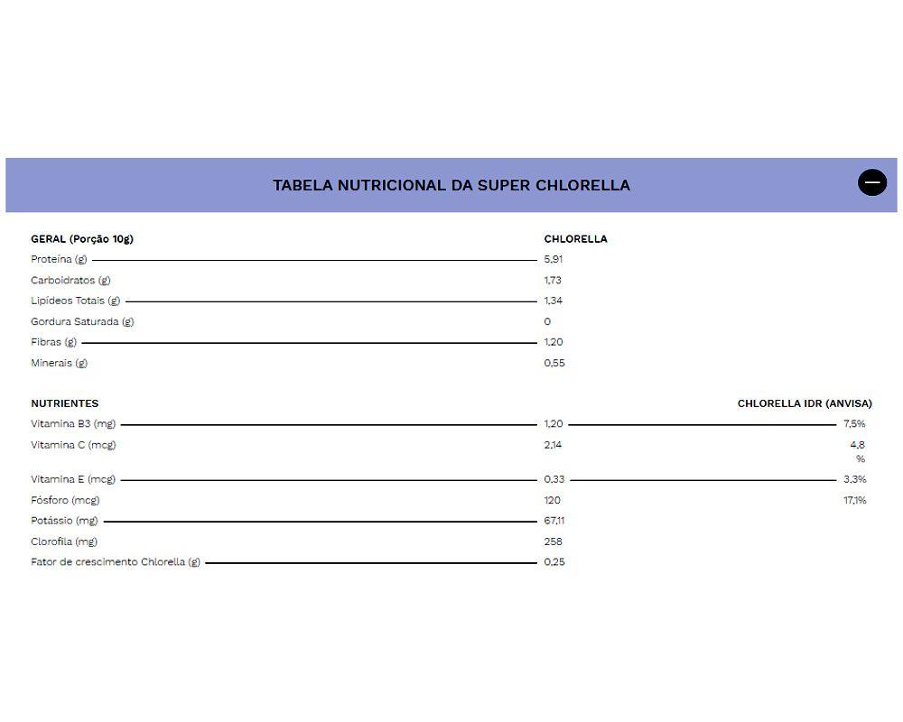 Chlorella 240 cápsulas - Ocean Drop