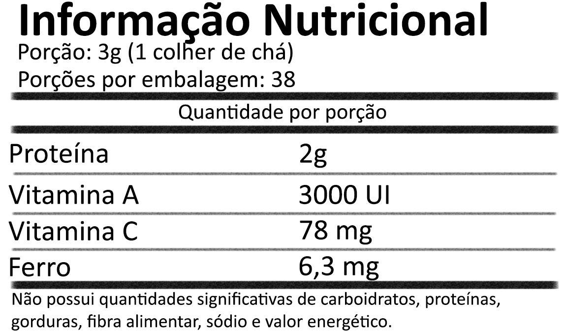 Chlorella Premium em Pó Pura 113g - Now Foods