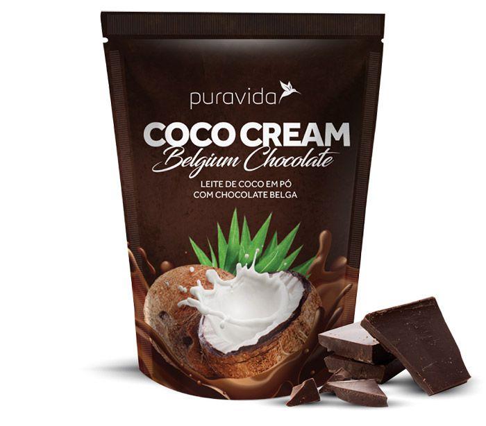 Coco Cream Leite de Coco em Pó 250g - Puravida