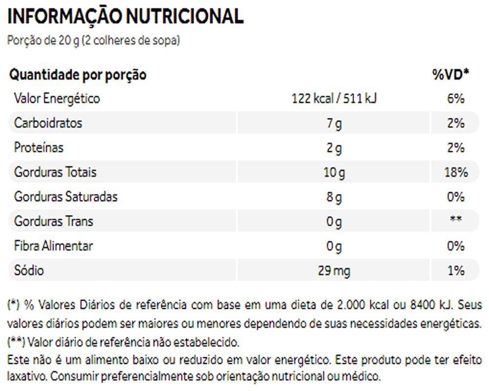 Coco Cream Leite de Coco em Pó Golden Milk Cúrcuma 250g - Puravida