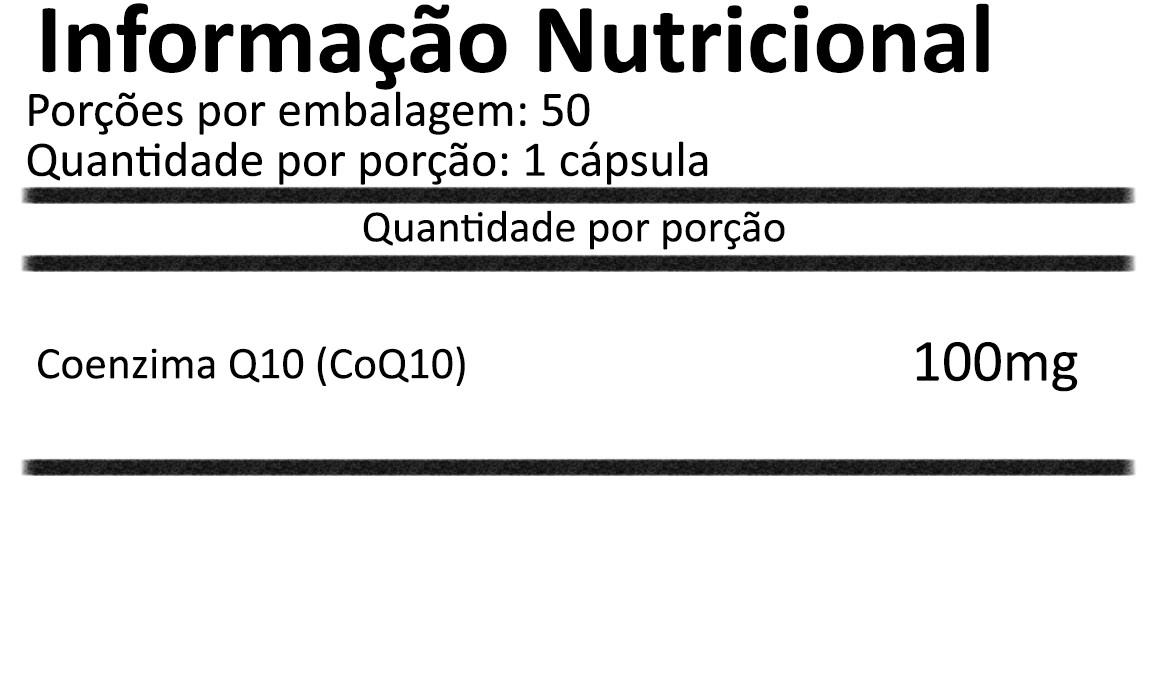Coenzima Q10 CoQ10 50 cápsulas veganas NOW