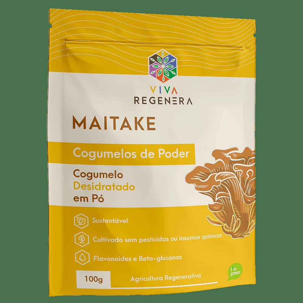 Cogumelo Maitake em Pó 100g Viva Regenera