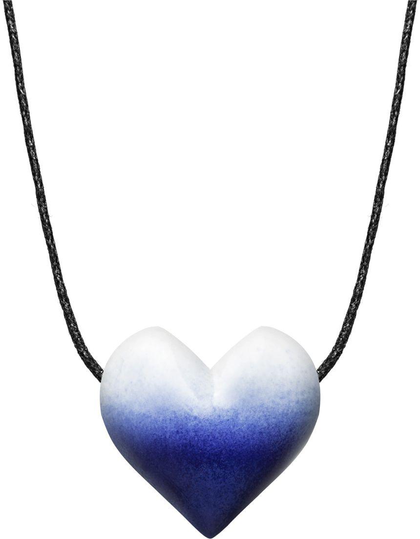 Colar Aromatizador Coração Azul Difusor Pessoal Ortega