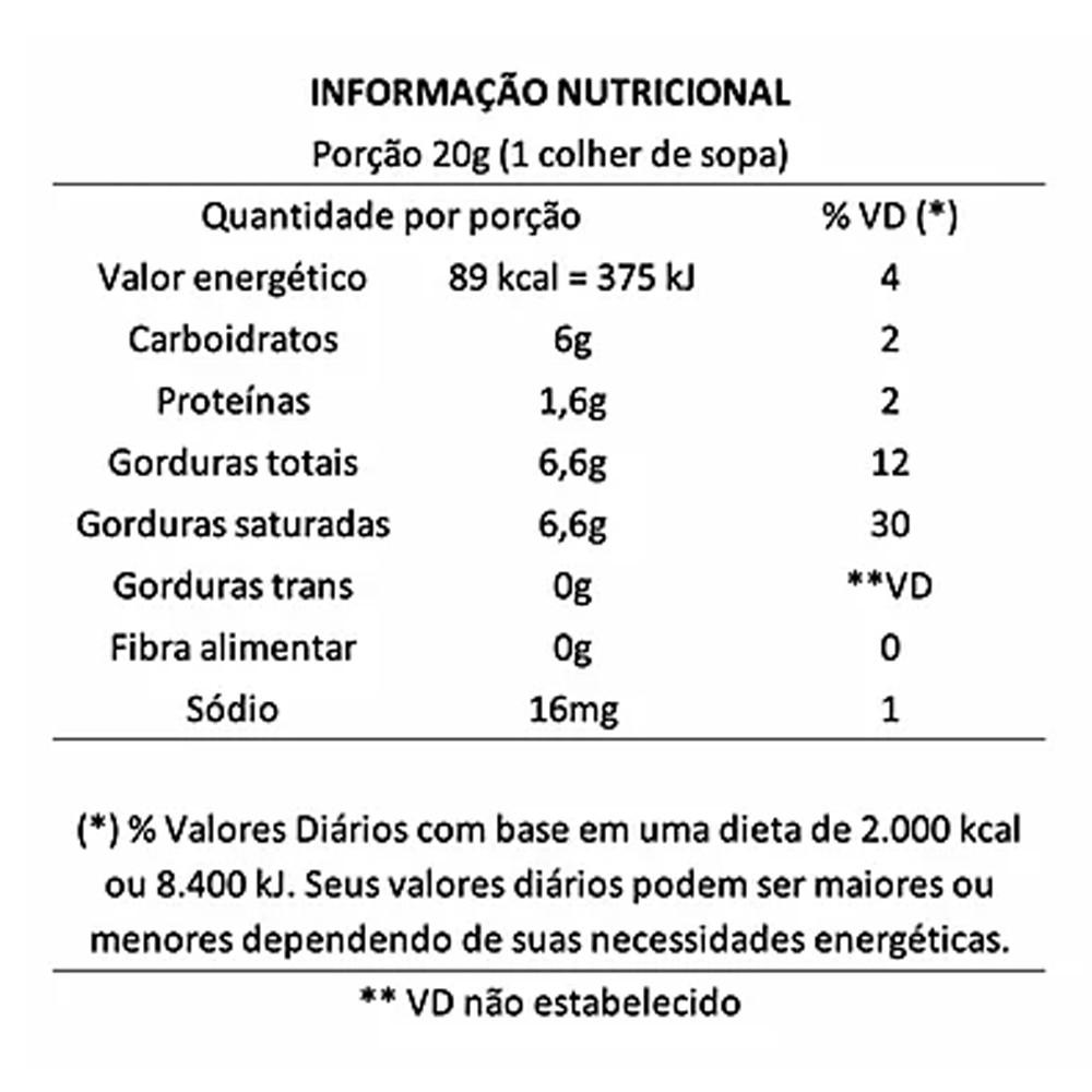 Doce de Leite de Coco sem Açucar 200ml Cocodensado