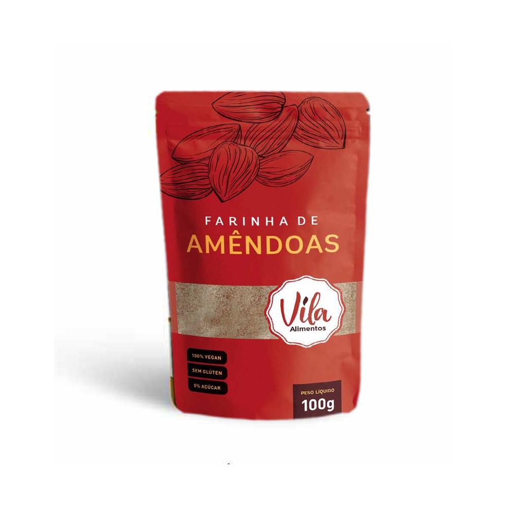 Farinha de Amêndoas 100g Vila Alimentos