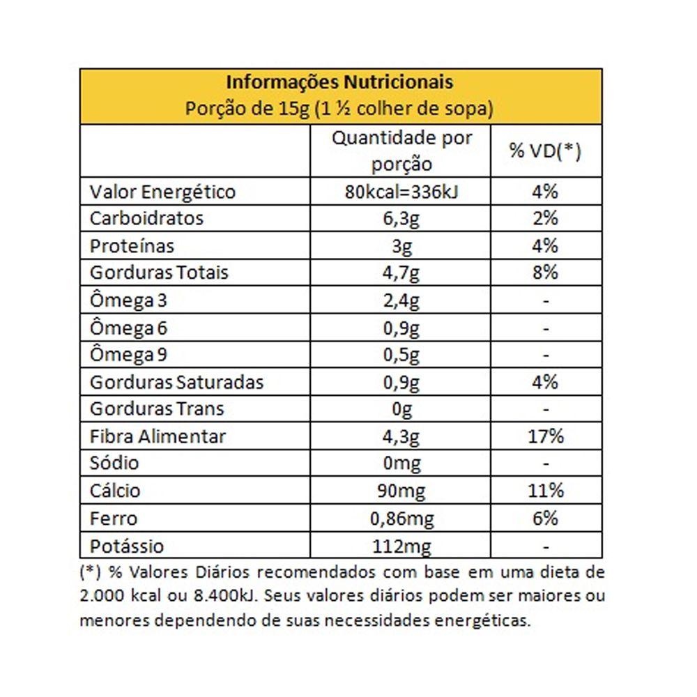 Farinha de Chia Integral Estabilizada 250g Giroil