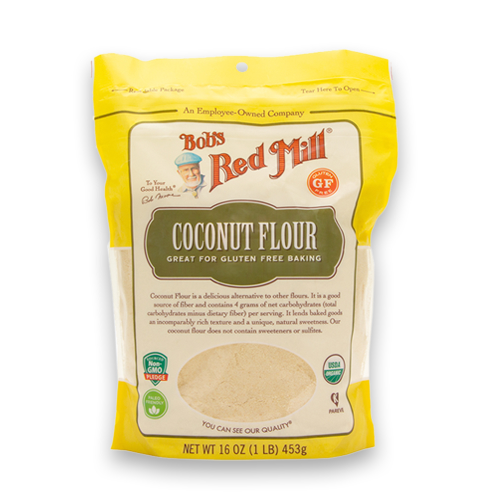 Farinha de Coco Sem Gluten 453g Bobs Red Mill