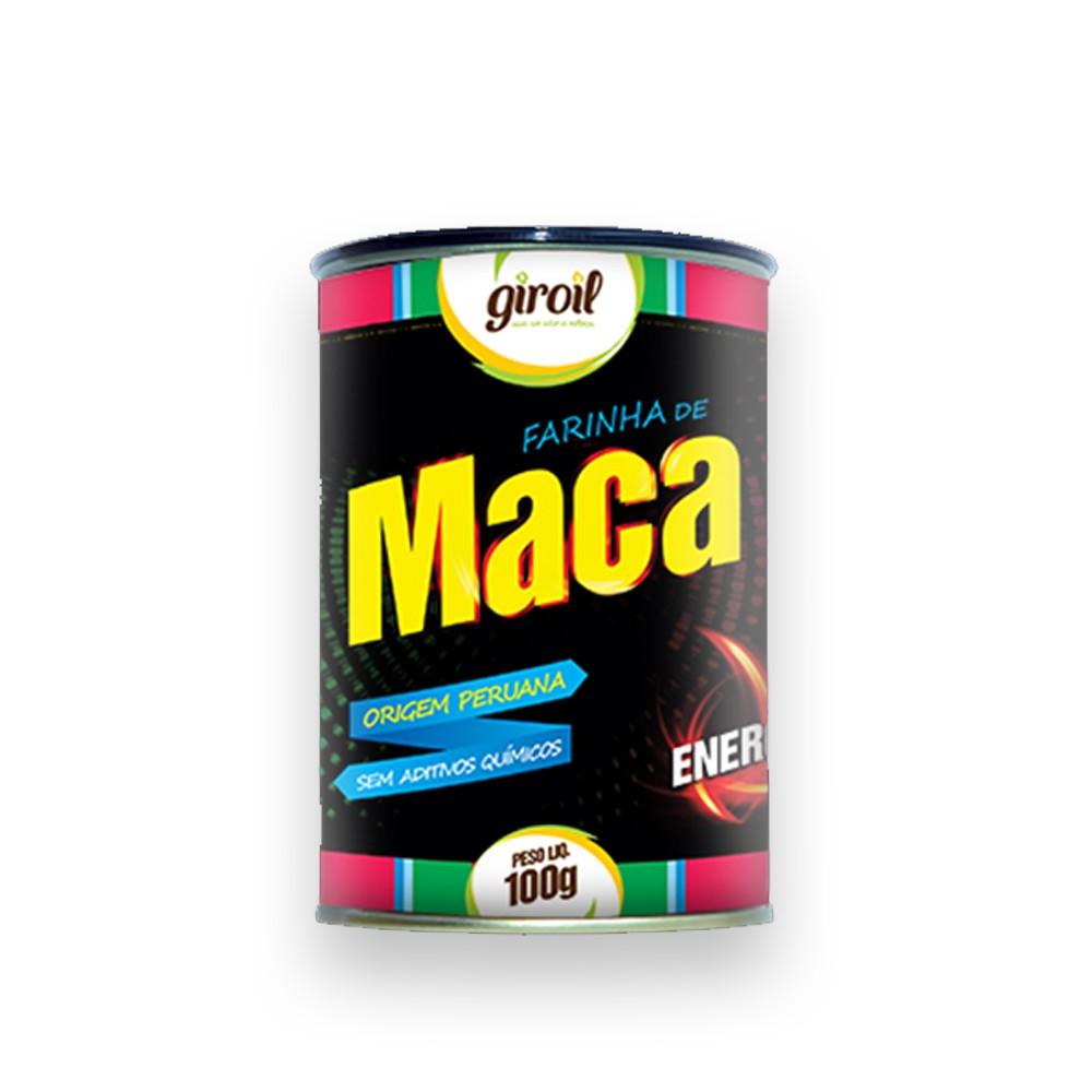 Farinha de Maca Peruana 100g Giroil