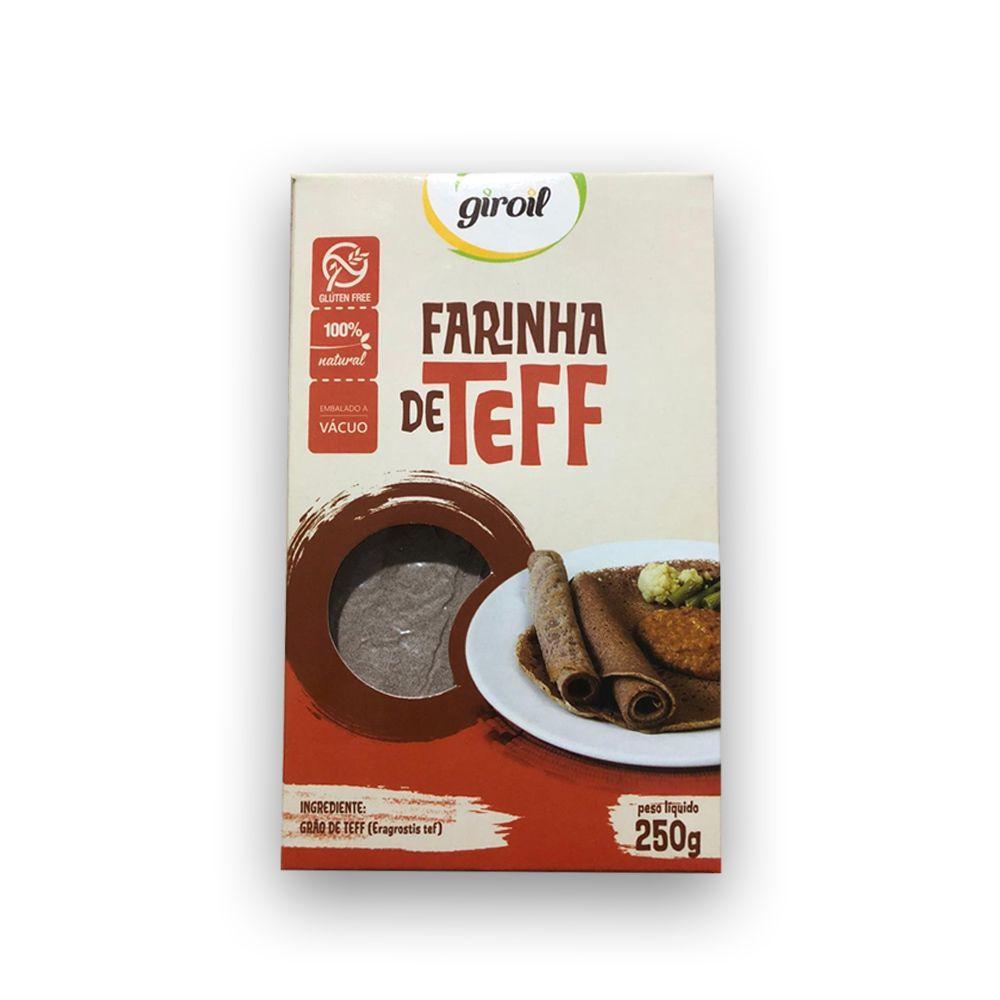 Farinha de Teff 250g Giroil