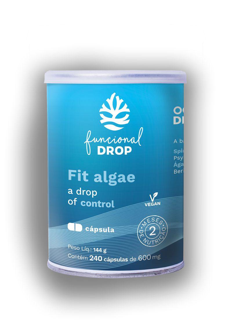 Fit Algae 240 cápsulas - Ocean Drop