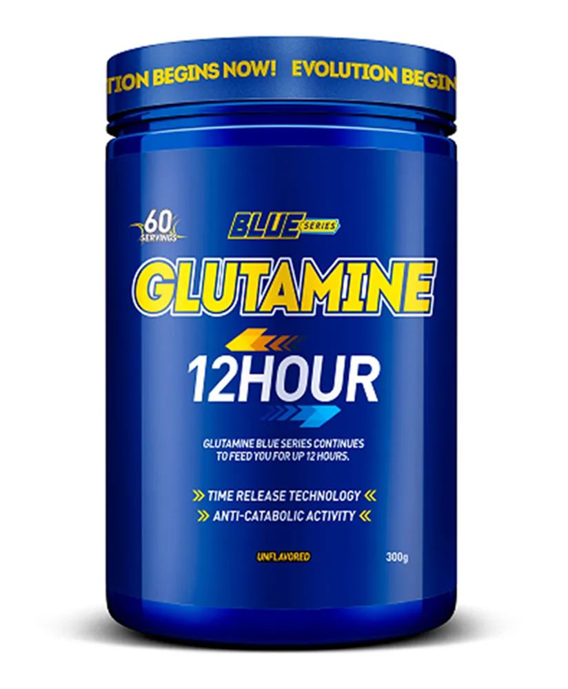 Glutamina Glutamine 12 hour 300g - Blue Series