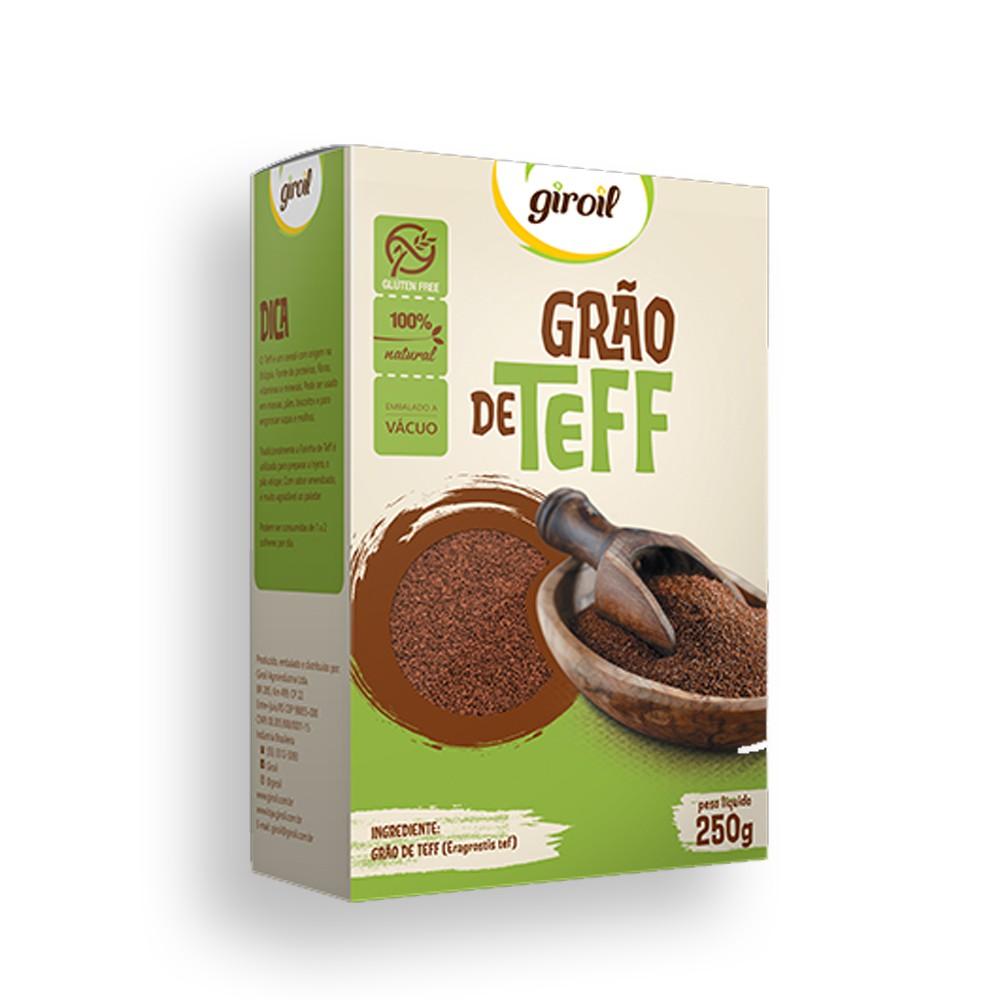 Grão de Teff 250g Giroil