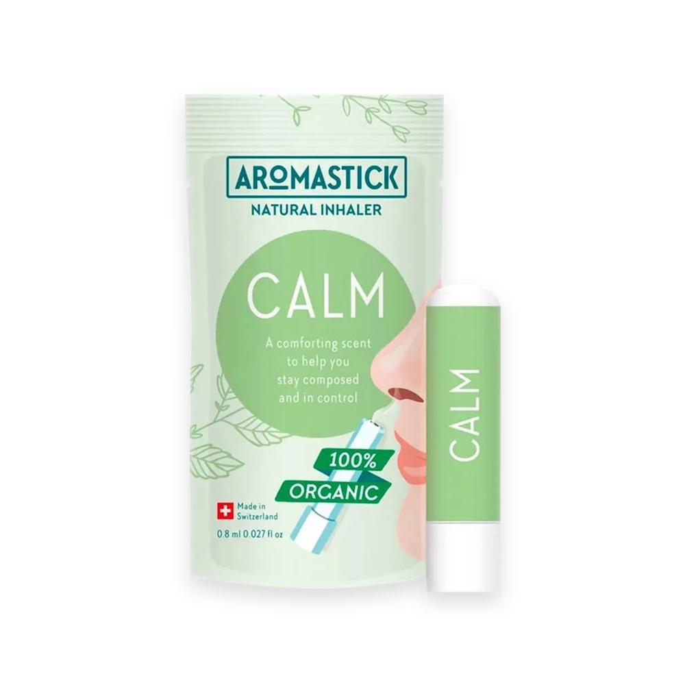 Inalador Nasal Calmante Mix de Óleo Essencial Orgânico e Natural Aromastick