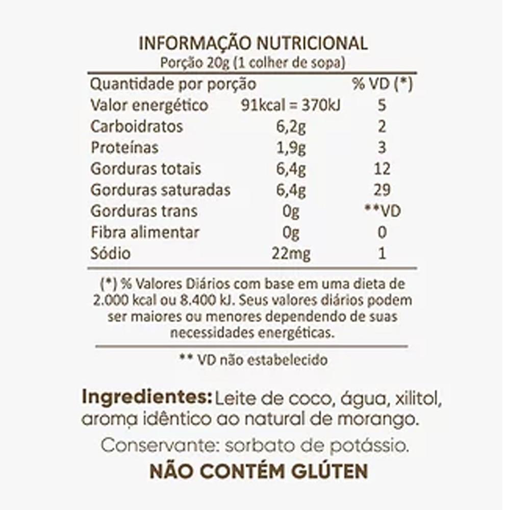 Kit Cocodensado 5 Sabores Leite Condensado de Coco sem Açucar