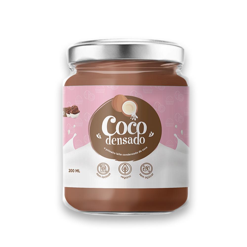 Kit Cocodensado Tradicional Brigadeiro Doce de Leite Cocotella sem Açucar