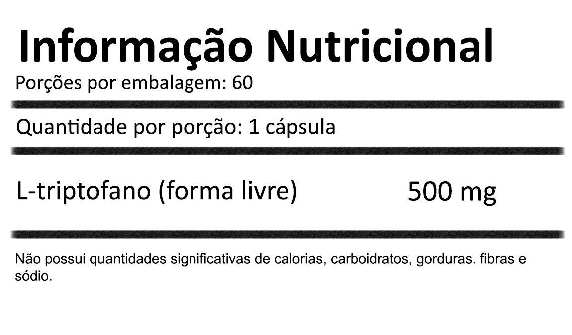 L-triptofano 60 cápsulas de 500mg Now