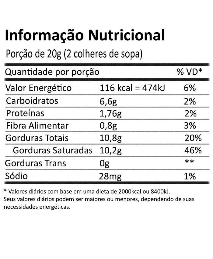 Leite de Coco em Pó 200g Vila Alimentos