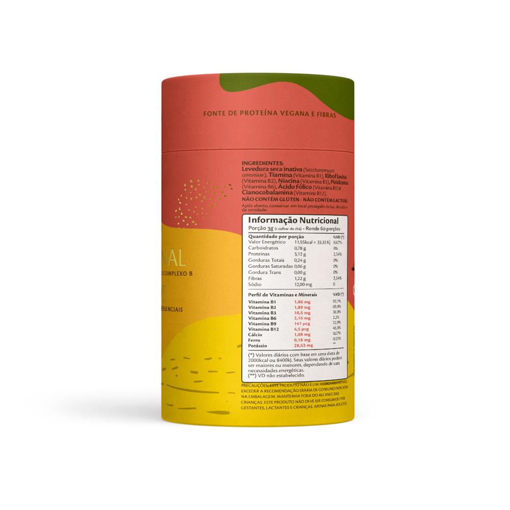 Levedura Nutricional em Flocos 180g Souly