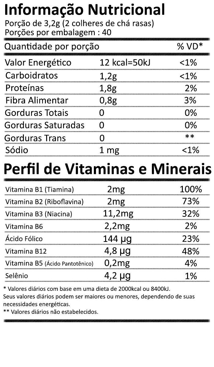 Levedura Nutricional em Flocos Nutritional Yeast Flakes 128g NOW