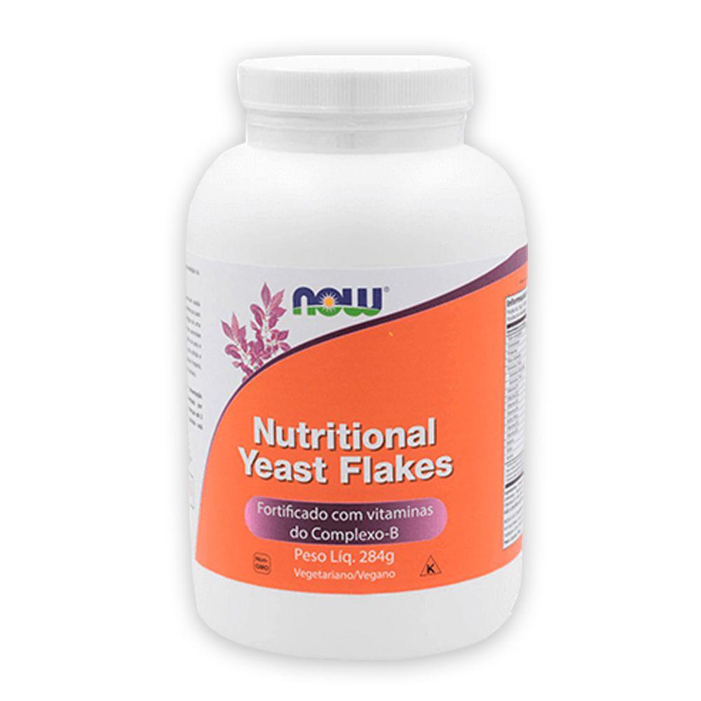 Levedura Nutricional em Flocos Nutritional Yeast Flakes 284g NOW