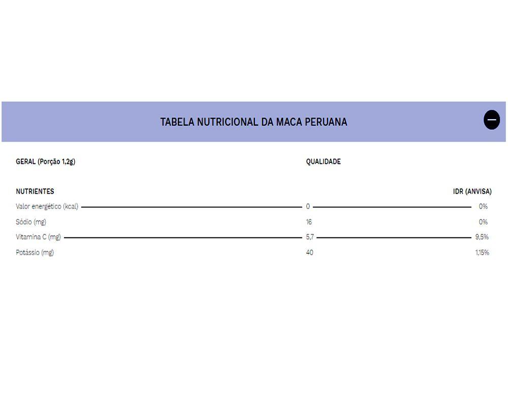 Maca Peruana 120 cápsulas - Bloom Bits