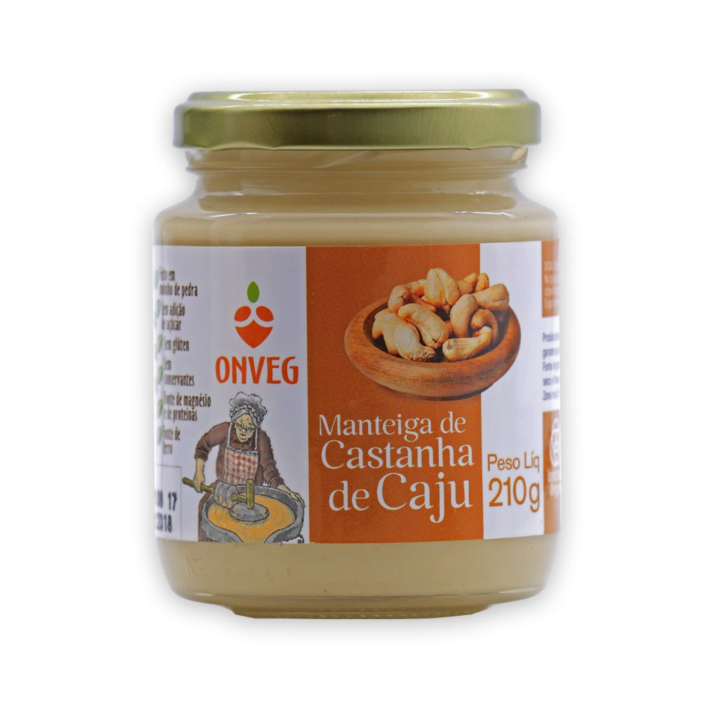 Manteiga de Castanha de Caju 210g Onveg